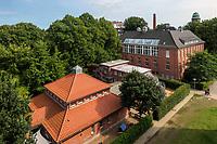 Kindergarten im ehemaligen Krankenhaus Barmbek, Hamburg, Deutschland, Europa<br /> Kindergarten in former hospiital Barmbek, Hamburg, Germany, Europe