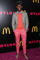 WEST HOLLYWOOD, CA - DECEMBER 05: Quentin Thrash arriving at the Nylon Magazine December 2013/January 2014 Cover Launch Party held at Quixote Studios on December 5, 2013 in West Hollywood, California. (Photo by Xavier Collin/Celebrity Monitor)
