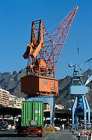 Spanien, Kanarische Inseln, Teneriffa, Hafen von Santa Cruz