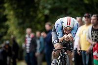 Victor Campenaerts (BEL/Lotto-Soudal)<br /> Elite Men Individual Time Trial<br /> from Northhallerton to Harrogate (54km)<br /> <br /> 2019 Road World Championships Yorkshire (GBR)<br /> <br /> ©kramon