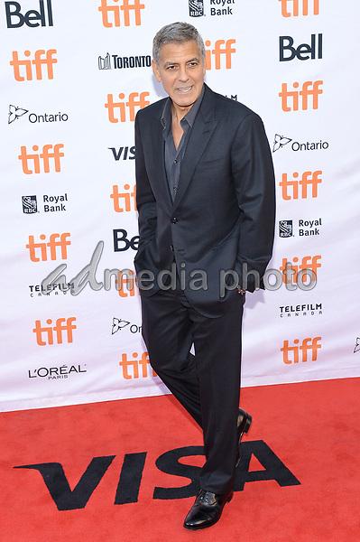 "09 September 2017 - Toronto, Ontario Canada - George Clooney. 2017 Toronto International Film Festival - ""Suburbicon"" Premiere held at Princess of Wales Theatre. Photo Credit: Brent Perniac/AdMedia"