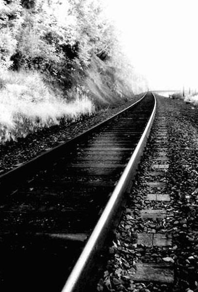 What is known, railroad tracks Chuckanut Drive, Washington