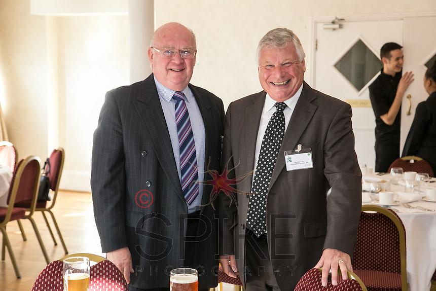 Ron Glen (left)  of Ron Glen Management and Len Simmonds of Nottingham Workplace Chaplaincy