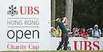 Lucas Bjerregaard of Denmark hits the ball during Hong Kong Open golf tournament at the Fanling golf course on 25 October 2015 in Hong Kong, China. Photo by Aitor Alcade / Power Sport Images