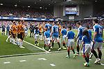 Alloa form a guard of honour for Rangers