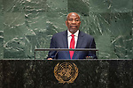 LOS general debate – 27 September<br /> <br /> PM<br /> <br /> His Excellency Ruhakana RUGUNDA Prime Minister of the Republic of Uganda