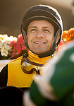 AUGUST 07 2021: Victor Espinoza at Del Mar Fairgrounds in Del Mar, California on August 07, 2021. Evers/Eclipse Sportswire/CSM