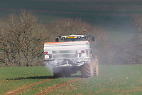 7-3-2021 Applying nitrogen to Winter wheat <br /> ©Tim Scrivener Photographer 07850 303986<br />      ....Covering Agriculture In The UK....