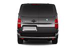 Straight rear view of 2020 Peugeot e-Expert FT-Premium 5 Door Cargo Van Rear View  stock images
