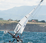 Sailors in action during the ISAF Sailing World Championships 2014 at the Real Club Maritimo of Santander on September 129 2014 in Santander, Spain. Photo by Nacho Cubero / Power Sport Images