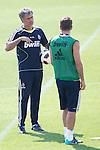 MADRID (11/08/2010).- Real Madrid training session at Valdebebas. Jose Mourinho and Rafael van der vaart...Photo: Cesar Cebolla / ALFAQUI