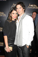 BEVERLY HILLS, CA - FEBRUARY 27: Nikki Reed, Ian Somerhalder at the 3rd Annual Noble Awards at the  Beverly Hilton Hotel in Beverly Hills, California on February 27, 2015. Credit: David Edwards/DailyCeleb/MediaPunch