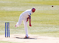 Darren Stevens bowls for Kent during Kent CCC vs Yorkshire CCC, LV Insurance County Championship Group 3 Cricket at The Spitfire Ground on 17th April 2021