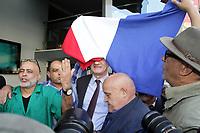 JEAN LASSALLE EN DEPLACEMENT A MARSEILLE, FRANCE, LE 12.04.2017.