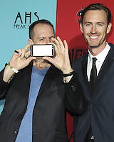 HOLLYWOOD, LOS ANGELES, CA, USA - OCTOBER 05: Tim Minear arrive at the Los Angeles Premiere Screening Of FX's 'American Horror Story: Freak Show' held at the TCL Chinese Theatre on October 5, 2014 in Hollywood, Los Angeles, California, United States. (Photo by Celebrity Monitor)