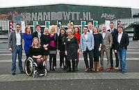 Rotterdam, The Netherlands. 14.02.2014. ABN AMRO World tennis Tournament, Management team<br /> Photo:Tennisimages/Henk Koster