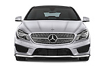 Car photography straight front view of a 2015 Mercedes Benz CLA Class 220 AMG line 5 Door Wagon