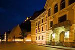 Landtag, Parlament, Regierung, Government, Vaduz, Rheintal, Rhine-valley, Liechtenstein.
