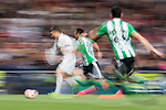 Cristiano Ronaldo of Real Madrid is followed by the Real Betis' players during their La Liga match between Real Madrid and Real Betis at the Santiago Bernabeu Stadium on 12 March 2017 in Madrid, Spain. Photo by Diego Gonzalez Souto / Power Sport Images