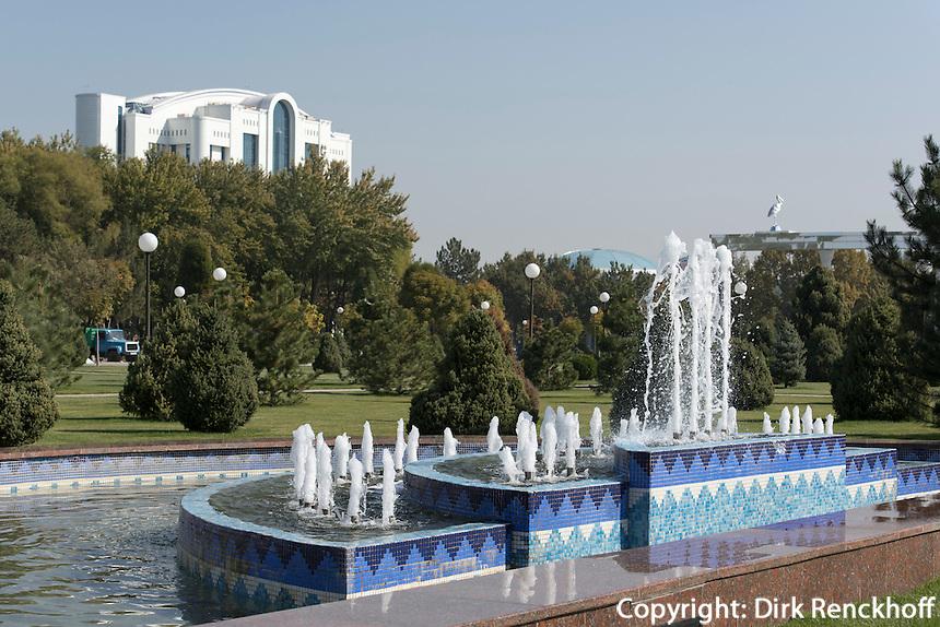 Platz der Unabhängigkeit (Mustaqillik Maydoni), Taschkent, Usbekistan, Asien<br /> square of independence (Mustaqillik Maydoni), Tashkent, Uzbekistan, Asia