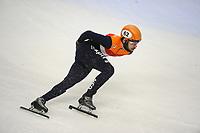SHORT TRACK: TORINO: 14-01-2017, Palavela, ISU European Short Track Speed Skating Championships, Semifinals Relay Men, Sjinkie Knegt (NED), ©photo Martin de Jong