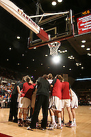 STANFORD, CA - JANUARY 10:  (Not in order) Guard Melanie Murphy #0, guard Grace Mashore #1, forward Jayne Appel #2, forward Michelle Harrison #5, guard JJ Hones #10, forward Kayla Pedersen #14, guard Lindy La Rocque #15, guard Hannah Donaghe #20, guard Rosalyn Gold-Onwude #21, guard Jeanette Pohlen #23, forward Ashley Cimino #24, forward Nnemkadi Ogwumike #30, forward Morgan Clyburn #31, forward Jillian Harmon #33, and forward Sarah Boothe #42 of the Stanford Cardinal during Stanford's 102-53 win against the Washington State Cougars on January 10, 2009 at Maples Pavilion in Stanford, California.
