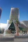 Vegas Architecture - City Center, Las Vegas, Nevada.  Photo by Alan Mahood.