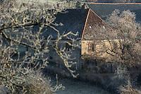 France, Corrèze (19), vallée de la Dordogne, Marcillac-la-Croze : Ferme // France, Correze, Dordogne Valley, Marcillac la Croze: Farm