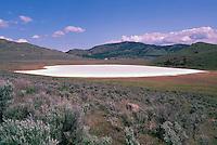 White Lake, South Okanagan Valley near Oliver, BC, British Columbia, Canada