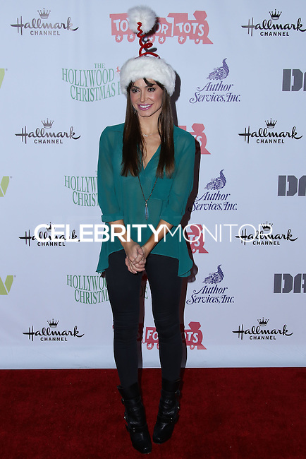 HOLLYWOOD, CA - DECEMBER 01: Karina Smirnoff arrives at the 82nd Annual Hollywood Christmas Parade held at Hollywood Boulevard on December 1, 2013 in Hollywood, California. (Photo by Xavier Collin/Celebrity Monitor)