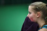 Rotterdam, The Netherlands, 07.03.2014. NOJK ,National Indoor Juniors Championships of 2014, Suzan Lamens(NED)<br /> Photo:Tennisimages/Henk Koster