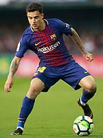 FC Barcelona's Philippe Coutinho during La Liga match. April 17,2018.  *** Local Caption *** © pixathlon<br /> Contact: +49-40-22 63 02 60 , info@pixathlon.de