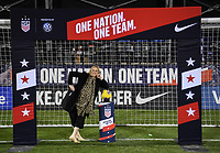 COLUMBUS, OH - NOVEMBER 07: US Soccer during a game between Sweden and USWNT at MAPFRE Stadium on November 07, 2019 in Columbus, Ohio.