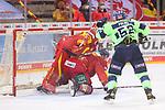 Marco Nowak (Duesseldorfer EG, Nr. 8) rutscht in Mirko Pantkowski (Duesseldorfer EG, Nr. 30) hinein<br /> im Spiel der Duesseldorfer EG gegen den ERC Ingolstadt (Penny DEL, 07.04..2021)<br /> <br /> Foto © PIX-Sportfotos *** Foto ist honorarpflichtig! *** Auf Anfrage in hoeherer Qualitaet/Aufloesung. Belegexemplar erbeten. Veroeffentlichung ausschliesslich fuer journalistisch-publizistische Zwecke. For editorial use only.