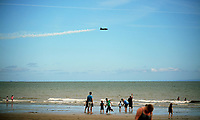 Pictured: One of the aeroplanes of the show. Saturday 01 July 2017<br />Re: National Wales Air Show in Swansea Bay, Wales, UK.