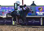 November 7, 2020 : Knicks Go, ridden by Joel Rosario, wins of the Big Ass Fans Dirt Mile on Breeders' Cup Championship Saturday at Keeneland Race Course in Lexington, Kentucky on November 7, 2020. Bill Denver/Breeders' Cup/Eclipse Sportswire/CSM