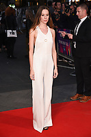 """Chloe Pirrie<br /> arriving for the London Film Festival 2017 screening of """"Breathe"""" at the Odeon Leicester Square, London<br /> <br /> <br /> ©Ash Knotek  D3318  04/10/2017"""