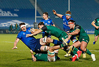 2nd January 2021; RDS Arena, Dublin, Leinster, Ireland; Guinness Pro 14 Rugby, Leinster versus Connacht; Ryan Baird of Leinster is tackled