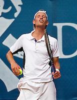 04-09-13,Netherlands, Alphen aan den Rijn,  TEAN, Tennis, Tean International Tennis Tournament 2013, Tean International ,  Miliaan Niesten (NED)  <br /> Photo: Henk Koster