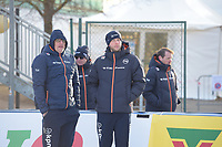 SPEED SKATING: COLLALBO: Arena Ritten, 10-01-2019, ISU European Speed Skating Championships, Jac Orie (Trainer/Coach), Sicco Janmaat (Trainer/coach), ©photo Martin de Jong