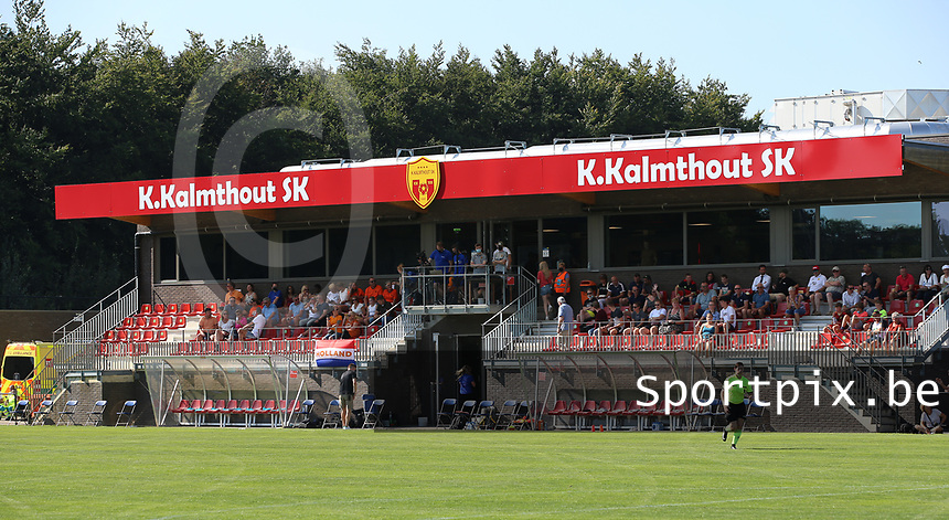 The stadium of K Kalmthout SK pictured before an international friendly female soccer game between the national teams of Belgium , called the Red Flames U17 and the Netherlands on Wednesday 8th of September 2020  in Kalmthout , Belgium . PHOTO SPORTPIX.BE   SPP   SEVIL OKTEM
