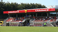 The stadium of K Kalmthout SK pictured before an international friendly female soccer game between the national teams of Belgium , called the Red Flames U17 and the Netherlands on Wednesday 8th of September 2020  in Kalmthout , Belgium . PHOTO SPORTPIX.BE | SPP | SEVIL OKTEM