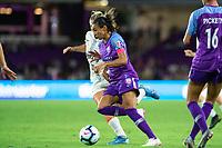 Orlando, FL - Saturday October 12, 2019: Marta Vieira da Silva , Orlando Pride vs Reign FC Stars at Exploria Stadium.