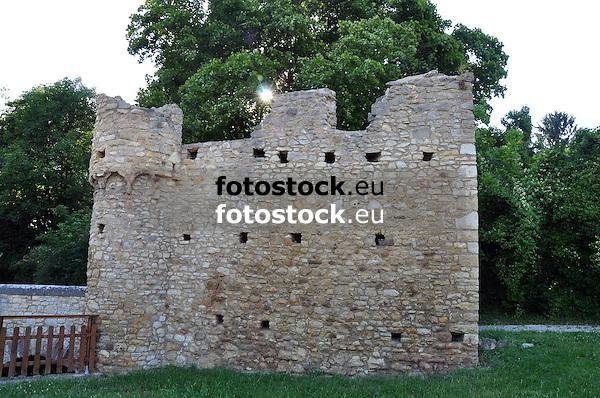 11.000 Mägde Turm um 1000 als Zollturm auf der Straße von Mainz nach Bad Kreuznach errichtet