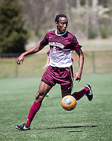The College of Charleston Cougars played the  Georgia Southern Eagles in The Manchester Cup on April 5, 2014.  The Cougars won 2-0.  Tanner Clay (5)