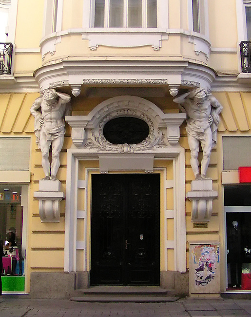 Old Sofia, Architectural Detail