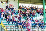 The Causeway suporters in the stands before the Kerry County Senior Hurling Championship Final match between Kilmoyley and Causeway at Austin Stack Park in Tralee