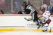 Kasper Björkqvist (PC - 20), Luke McInnis (BC - 3) - The Boston College Eagles defeated the visiting Providence College Friars 3-1 on Friday, October 28, 2016, at Kelley Rink in Conte Forum in Chestnut Hill, Massachusetts.The Boston College Eagles defeated the visiting Providence College Friars 3-1 on Friday, October 28, 2016, at Kelley Rink in Conte Forum in Chestnut Hill, Massachusetts.