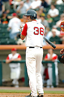 OF Alex Hassan of the Lowell Spinners, the short season NY-P affiliate of the Boston Red Sox ,at LeLacheur Field in Lowell, MA on August 9, 2009. Hassan was Boston's 20th round pick in the 2009 draft. (Photo by Ken Babbitt/Four Seam Images)