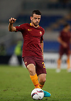 Calcio, Europa League: Roma vs Astra Giurgiu. Roma, stadio Olimpico, 29 settembre 2016.<br /> Alessandro Florenzi in action during the Europa League Group E soccer match between Roma and Astra Giurgiu at Rome's Olympic stadium, 29 September 2016. Roma won 4-0.<br /> UPDATE IMAGES PRESS/Isabella Bonotto